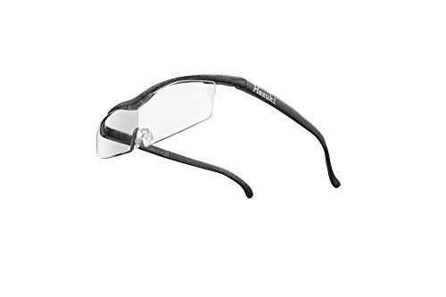 Hazuki ハズキルーペ 直営店 公式店 限定 倍率交換保証付き コンパクト 1.6倍 クリアレンズ ブラックグレー ハズキ 拡大鏡 ルーペ メガネ型 眼鏡型 めがね型 メガネ 眼鏡 めがね 日本製 MADE IN JAPAN ギフト