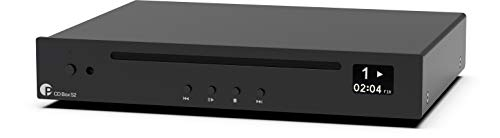 Pro-Ject CD Box S2 Compact Hi-Fi CD Player for Red Book Standard...