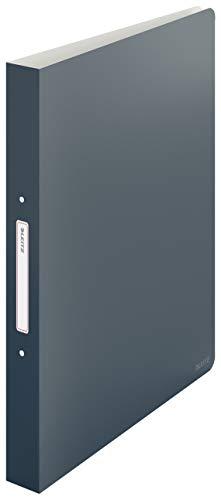 Leitz Ringbuch, 190 Blatt, 32mm Rückenbreite, Samtgrau, A4, Cosy-Serie, 42380089