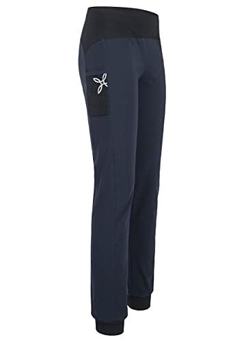 MONTURA - Pantalón de mujer ligero para senderismo y gimnasio Sound - Azul noche