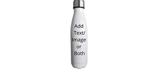 Pod Personalisierte Wasserflaschen, Edelstahl, mit Text oder Bild, 500 ml