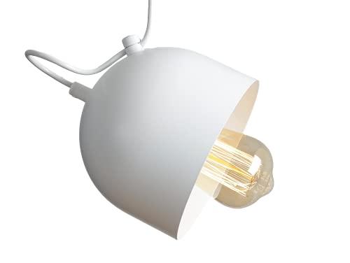 CustomFORM LP011POPO1-01 POPO - Lámpara colgante (metal), color blanco
