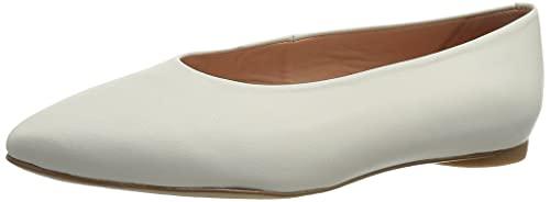 Unisa, Zapatos Tipo Ballet Mujer, Ivory, 39 EU