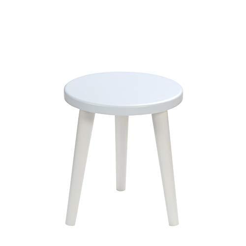 BIM Furniture Schemel Flynn O MoonWood - Taburete Infantil (34 x 30 x 2,5 cm), Color Azul