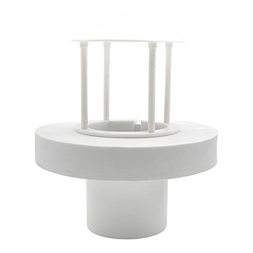LOVIVER Kleiner Bunter LED Schwimmender Nebel Hersteller Aquarium Brunnen Teich Nebelgerät