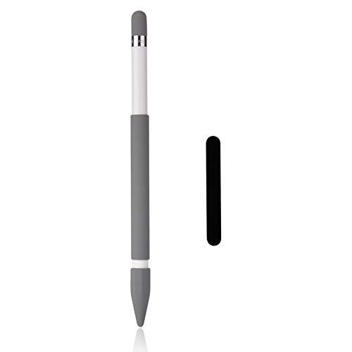 Teyomi Apple Pencil Hülle Apple Pencil Case Magnetische Hülle Hülse Schutzhülle Case Sleeve, Apple Pencil Kappe/Apple Pencil Spitze,Soft Silikon Halter Griff für Apple Pencil