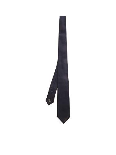 Z ZEGNA Luxury Fashion Herren Z7D901L7E Blau Seide Krawatte   Frühling Sommer 20