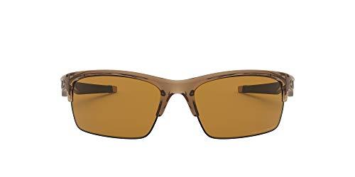 Oakley Men's OO9164 Bottle Rocket Rectangular Sunglasses, Polished Black/Black Iridium Polarized, 62 mm