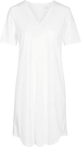 Rösch Damen-Nachthemd Interlock-Jersey weiß Größe 40