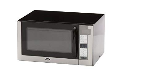 Oster OGG61403 1-2/5-Cubic-Feet Microwave Oven, Stainless Steel