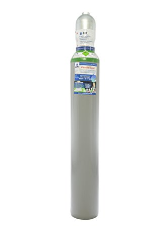 Argon/Helium 10 Liter Flasche/NEUE Gasflasche (Eigentumsflasche) gefüllt mit Argon 70% / Helium 30%, 10 Jahre TÜV ab Herstelldatum, EU Zulassung, Schweißgas zum WIG Schweißen - made in EU