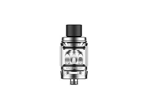 Vaporesso NRG SE Mini Tanque 2 ml (Plata) diseño twist abierto - flujo de aire inferior ajustable - compatibilidad con bobinas GT! Este producto no contiene nicotina ni tabaco