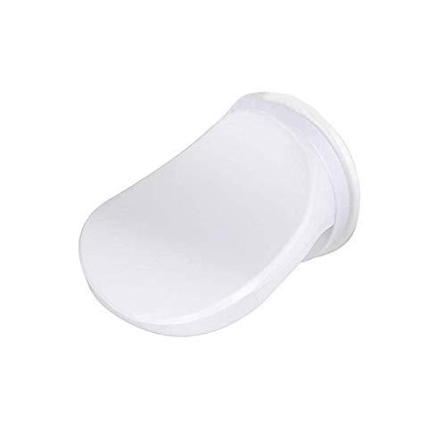 ZHQHYQHHX Lavado de patas de afeitado para baño, ducha, ahorro de mano de obra, ventosa, accesorios de cocina, accesorios de baño, accesorios de cocina, (color: blanco, tamaño: libre)