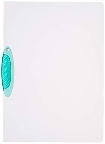 Durable 226032 Carpeta con clip Swingclip de PP, hasta 30 hojas A4, verde oscuro, paquete de 25