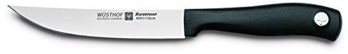 WÜSTHOF Steakmesser, Silverpoint (4041-7), 13 cm Klinge, rostfreier Stahl, spülmaschinengeeignet, Küchenmesser bzw. Fleischmesser extrem scharf