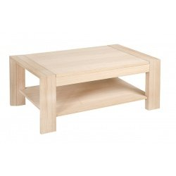 ojemar international Table Basse fija100 x 100 Loop (chêne)