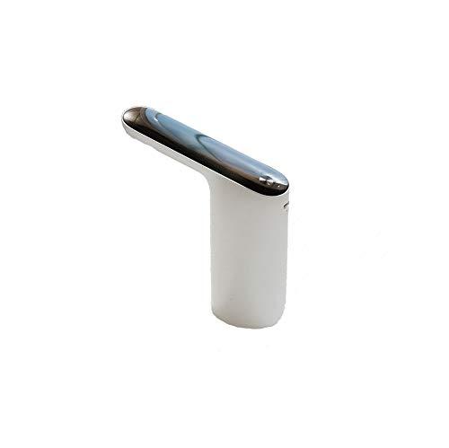 SCDSRQ Dispensador de Agua eléctrico portátil, Carga USB, Grifo de Agua Potable para Botella, Interruptor táctil, Grifo de Bomba automático