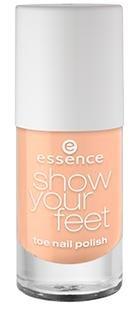 Essence Show Your Feet - Nagellack - 18 Princess Peach 8ml Farbe: Pfirsich