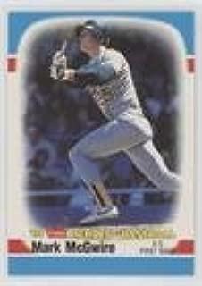 Mark McGwire (Baseball Card) 1989 Fleer Heroes of Baseball - Box Set [Base] #28