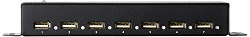 LogiLink UA0148 USB 2.0 HUB 7-port, incl. Power Display, Full Metal Housing