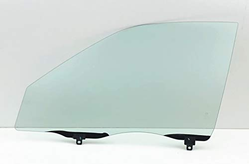 NAGD Passenger/Right Side Front Door Window Glass Replacement for Toyota Corolla/Chevrolet Prizm 1998-2002