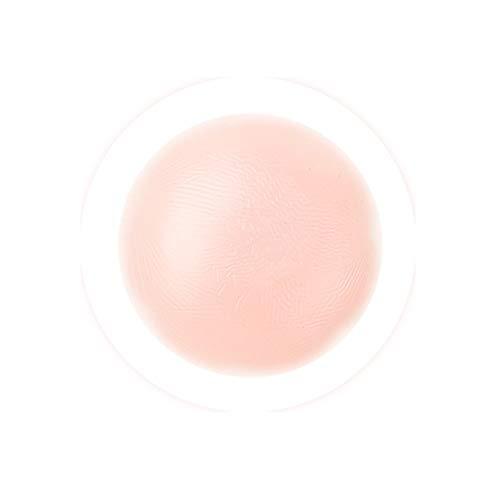 Sujetador de levantamiento de senos,1 par auto-adhesivo de silicona instantánea Alza cinta reutilizable pétalos de flor cubierta de la entrerrosca del sujetador del cojín de mama invisible