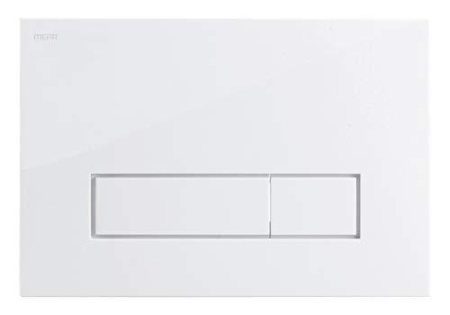 Mepa 421800 Betätigungsplatte MEPAorbit weiß 2-Mengen Typ A31/B31
