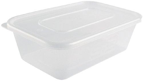 Restauration Appareil Superstore DM182 conteneur à micro-ondes en plastique (Lot de 250)