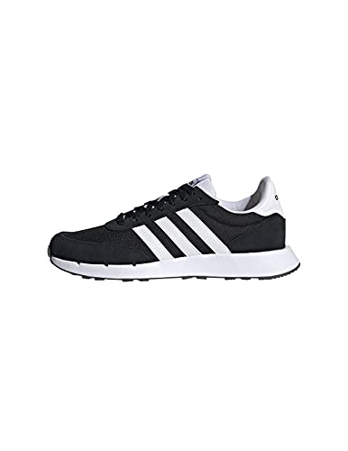 adidas Run 60s 2.0, Zapatillas de Running Mujer, NEGBÁS/FTWBLA/NEGBÁS, 37 1/3 EU