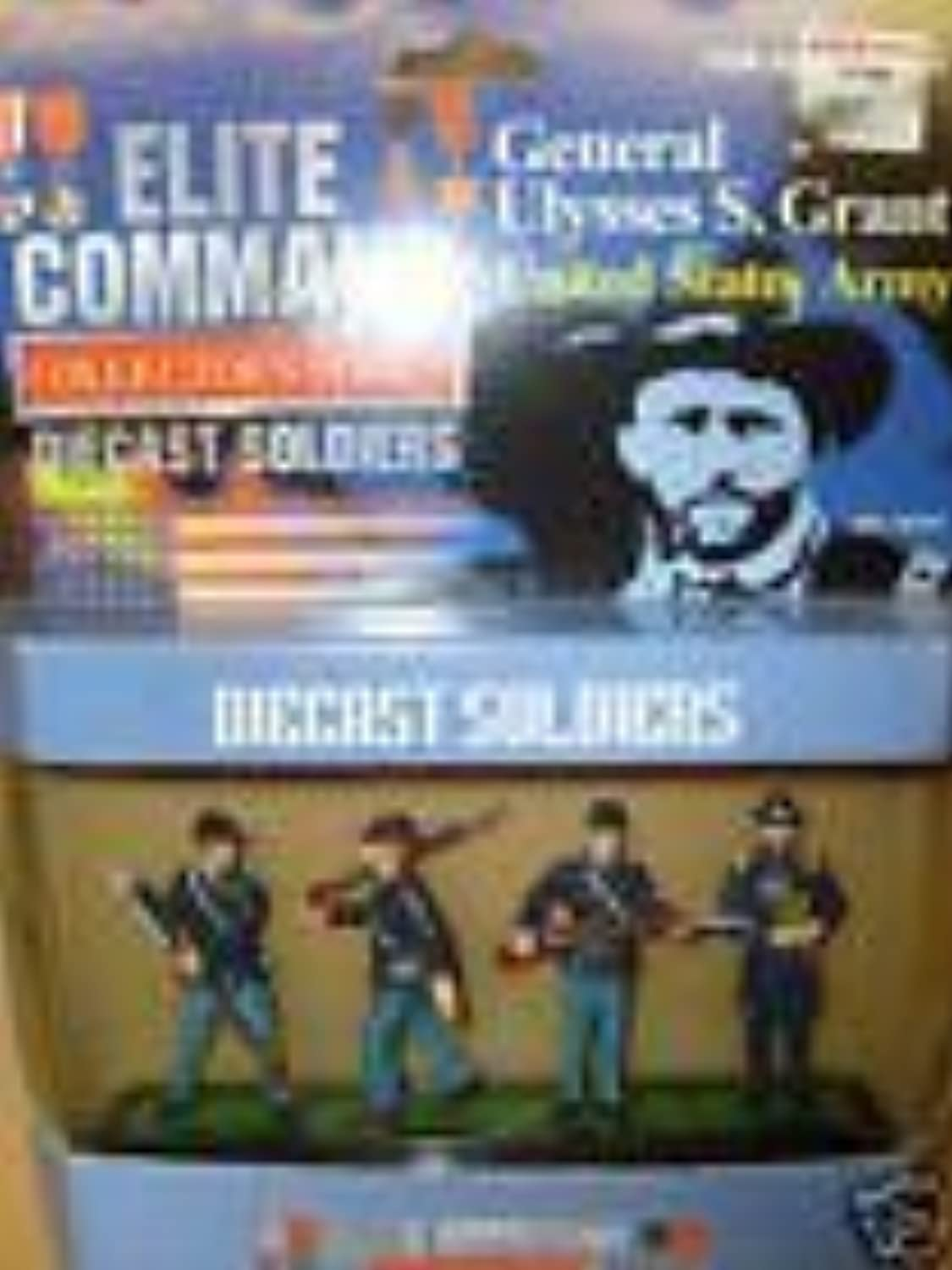 Elite Command Collector Series  Ulysses S. Grant MINI Diecast Soldiers