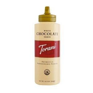 東洋ビバレッジ トラーニ ホワイトチョコレートソース 468g×6本