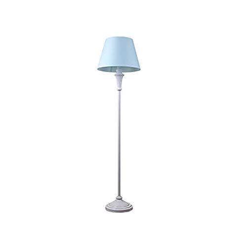 Busirsiz En la sala, hotel, dormitorio, lámpara de piso -Moderno sala de estar minimalista lámpara de pie mediterránea B Tela Lámpara de pie Altura 158cm interruptor de pie