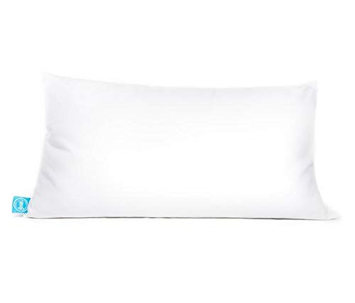 "One Fresh Pillow King Size Luxury Pillow, Patent-Pending Dual-Sided Design, for Back and Side Sleepers, Synthetic Fill (20"" X 36"")"