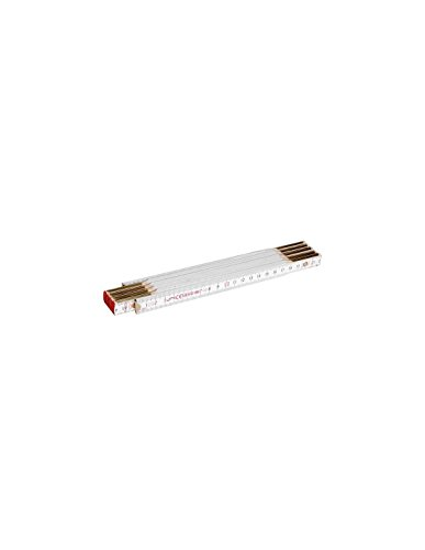 Perel 3414–2N Metro plegable de madera 2M