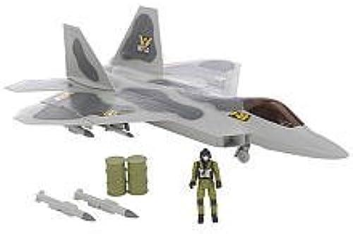 Giant F-22 Raptor Playset by Motormax