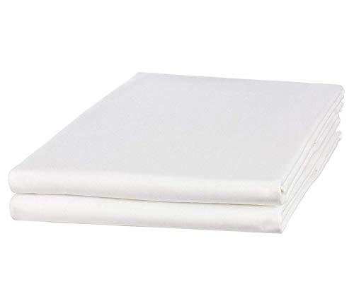 Caroline 2-pack Hotel lakens lakens lakens wit zonder elastiek 140g / m2