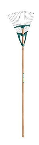 Leborgne Balai à gazon Xfil, Scarificateur-émousseur, 20 dents, Largeur: 42 cm, Résistant et léger, Manche: 150 cm, Acier