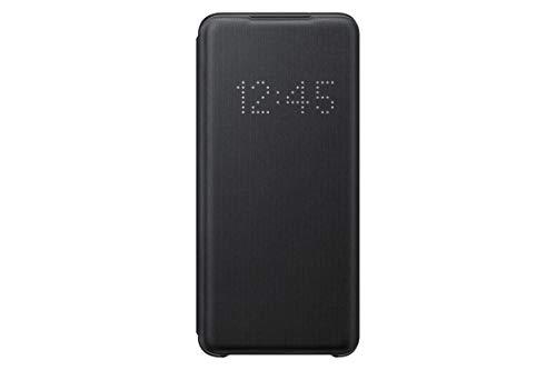 Samsung EF-NG980PBEGEU - Funda LED View para Galaxy S20 / S20 5G, Negro