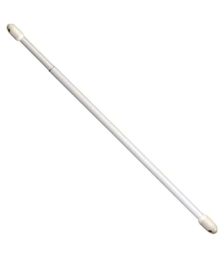 Riel Chyc 5431250 - Confezione 2 portavisillos Ovale Estensibile, 30-50 cm, Bianco