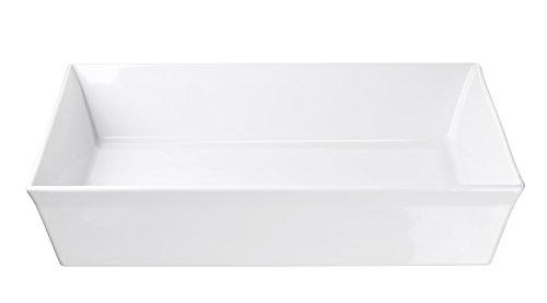 ASA Gratinform, Porzellan, weiß, 36x36x7.5 cm