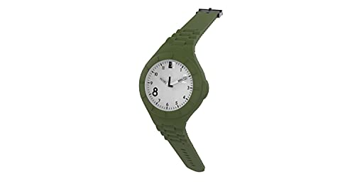 TOO LATE Reloj Mash-Up Lord Fat movimiento de cuarzo sumergible 5 ATM caja 44 mm, verde Smeraldo,