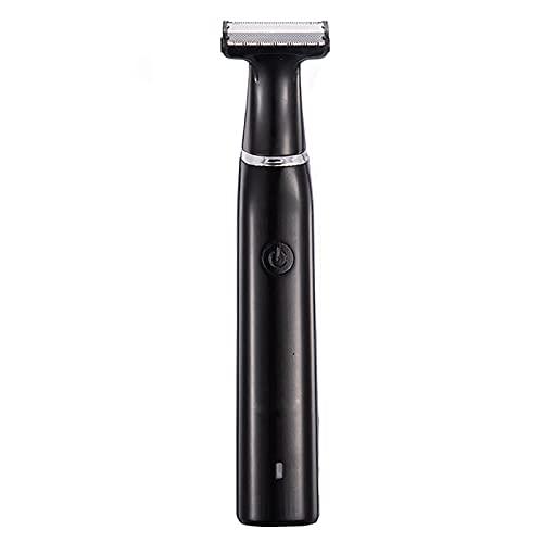 XAZ recortador de pelo masculino, hoja de doble cara, recortador eléctrico híbrido y navaja de afeitar, cosmetología corporal