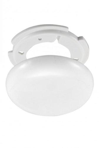 2x Lampen Abzweigdosen, Verteilerdose, weiß, superflach, Ø 130, Höhe 1,5 cm - MIT MONTAGE SET Globe Warehouse®