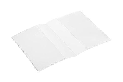 Durable 213819 Schutz- und Ausweishülle, Doppelhülle (für Dokumente DIN A7, 148 x 105 mm) 10 Stück transparent