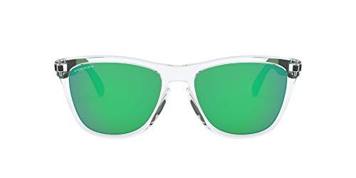 Oakley 0OO9428 Gafas de sol, Polished Clear, 55 para Hombre