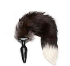Sexy Factory Super soft sexy Fox tail anal plug Sex anal toys for women,female cosplay large tail