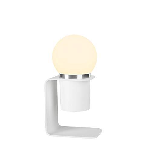 SLV LED Outdoor Akku-Leuchte TONILA Tischleuchte dimmbar, aufladbar per USB, mobile Tischlampe außen, für Garten und Terrasse, Tischbeleuchtung, 2700 Kelvin warmweiß, 180 Lumen