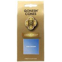 GONESH エクストラリッチ インセンス コーン ナグチャンパ 25ヶ入