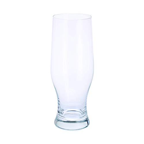 Dartington - Set di 6 bicchieri da birra in cristallo, multicolore, 205 mm, 50 cl