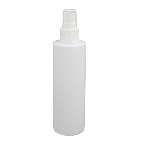 sourcingmap 200ml PE-Kunststoff Zylinder Form Nebel beschlagen Sprühflasche Sprayer Weiß de
